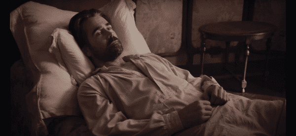 John (Colin Farrell) before all hell breaks loose on The Beguiled.