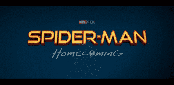 Spiderman: Homecoming Title Card