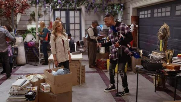 Marlon (Marlon Wayans) explaining to Ashley (Essence Atkins) about why he is having a hard time getting rid of things collected during their marriage.