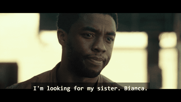Jacob King (Chadwick Boseman) in Message From The King