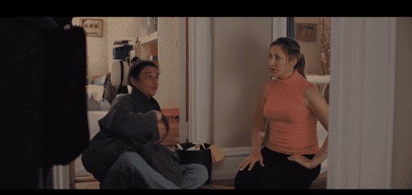 Pat (Edie Falco) and Dana (Jenny Slate) in Landline
