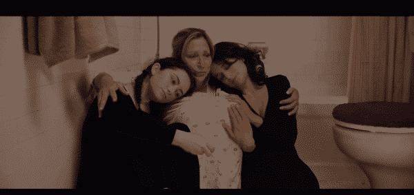 Pat (Edie Falco), Ali (Abby Quinn) Dana (Jenny Slate) in Landline