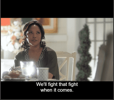 Greenleaf: Season 2/ Episode 11 - Lady Mae noting she is aware of Rochelle and will face that battle when it comes.
