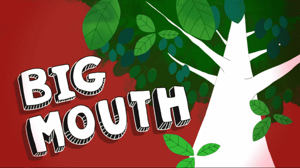 Title card for Big Mouth