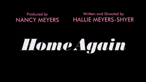 Home Again - Overview Review (with Spoilers) - Title Card