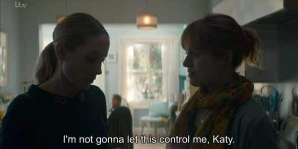Liar Season 1 Episode 1 [Series Premiere] - Laura telling Katy she isn't going to let this situation control her