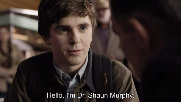 The Good Doctor Season 1 Episode 1 Burnt Food [Series Premiere] - Dr. Shaun Murphy (Freddie Highmore)