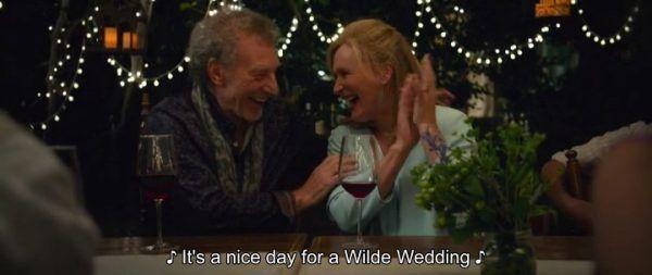 The Wilde Wedding - Harold (Patrick Stewart) and Eve (Glenn Close)
