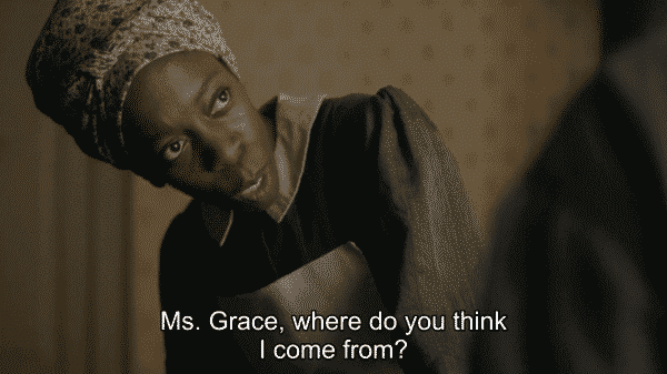 Alias Grace Clarrie Lisa Cordington