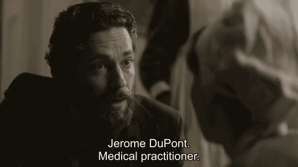 Alias Grace Jerome DuPont aka Jeremiah