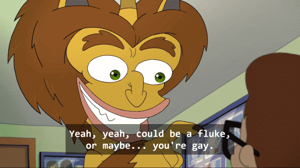 The Hormone Monster teasing Andrew About Maybe being gay