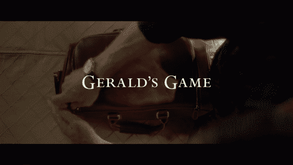 The title card for Gerald's Game