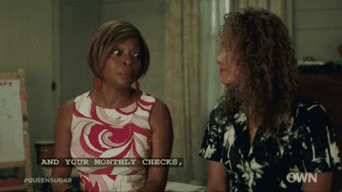 Queen Sugar Season 2 Episode 13 Heritage Aunt Vi and Darlene