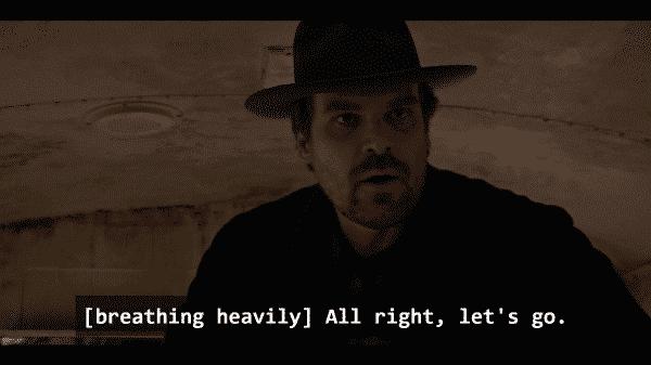 Stranger Things Season 1 Episode 7 Chapter Seven The Bathtub - Hopper