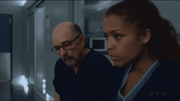 The Good Doctor Season 1 Episode 6 Not Fake - Dr. Glassman and Claire