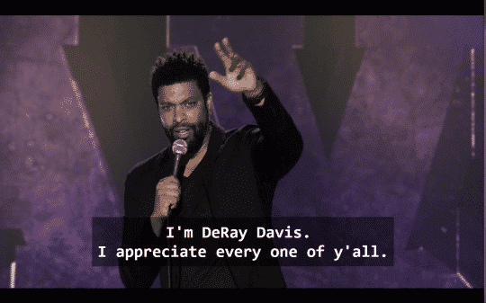 DeRay Davis How To Act Black