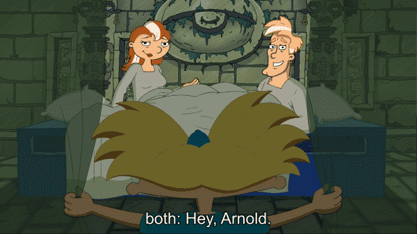 Hey Arnold The Jungle Movie - Stella, Arnold, and Miles