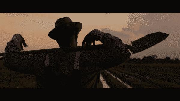 Mudbound - Rob Morgan silhouette