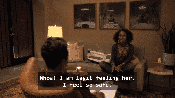 She's Gotta Have It Season 1 Episode 4 #LuvIzLuv (Sexuality is Fluid) - Dr. Jamison and Nola