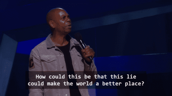 Dave Chappelle Equanimity - Relating the death of Emmett Till to Donald Trump's Presidency