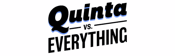 "Quinta vs. Everything: Season 1/ Episode 1 ""Quinta vs. Womanhood"" [Series Premiere] - Title Card"