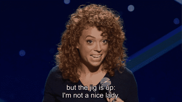 Michelle Wolf Nice Lady