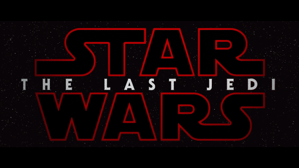 Star Wars Episode VIII The Last Jedi - Title Card