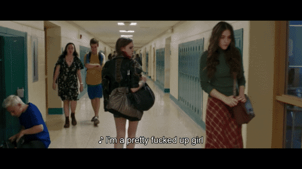 Nadia Alexander and Quinn Shephard in Blame