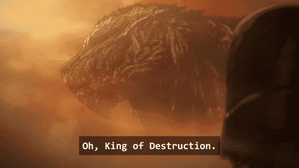 The King of Destruction - Godzilla