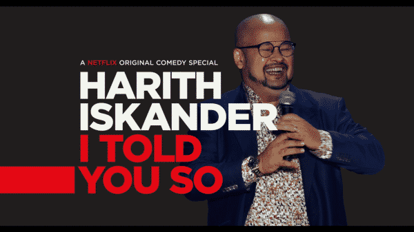 Harith Iskander I Told You So – Title Card