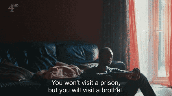 Nathaniel surprised his father won't visit him in prison but will come looking for him in a brothel.