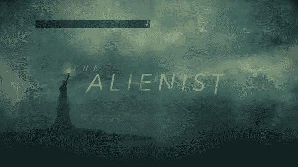 The Title Card for The Alienist