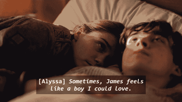 The End of the Fing World Season 1 Episode 3 Alyssa and James