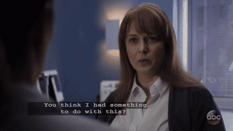 Claire accusing Tessa of maybe being involved in her husband's situation.