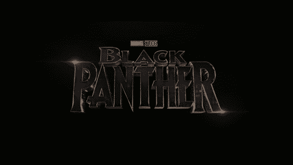 Black Panther title card