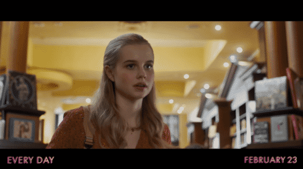 Angourie Rice as Rhiannon in Every Day.