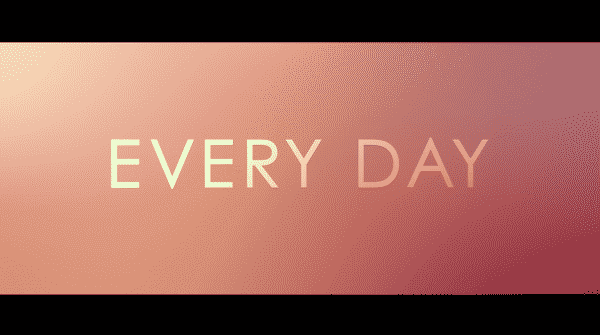 Title card of Every Day.