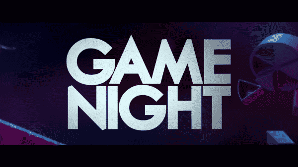 Game Night's title card