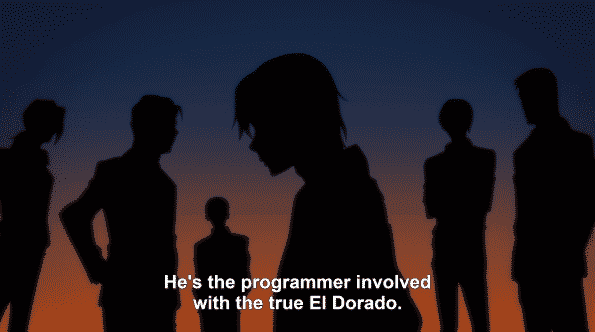 Martin's silhouette after being noted as one of the programmers to create El Dorado.