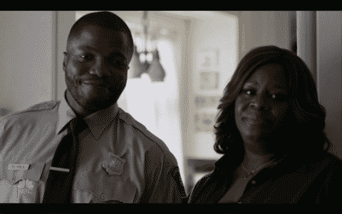 Reno Wilson and Retta as Stan and Ruby.