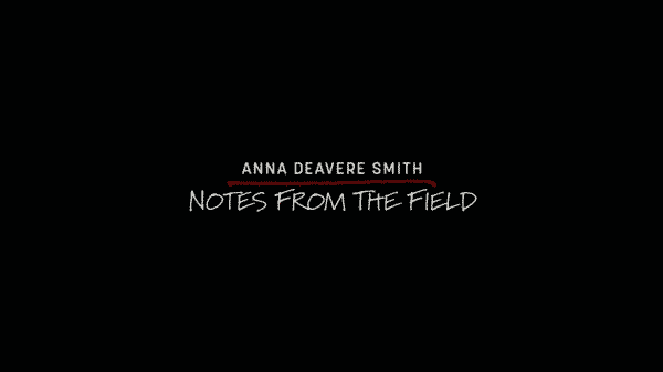 The title card for HBO's Notes From The Field.