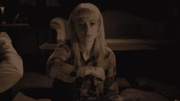 Lydia Wilson as Matilda in Requiem.