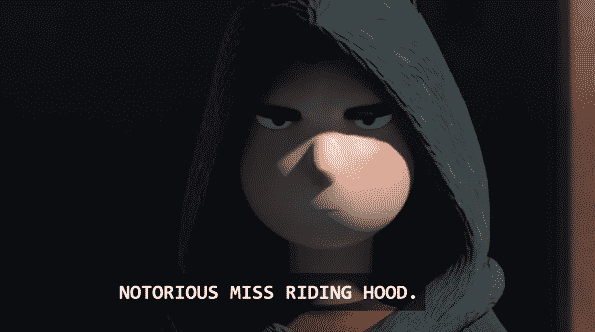 The Notorious Miss Riding Hood.