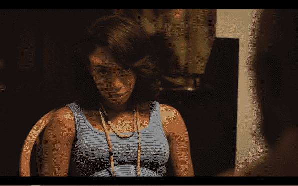 Jason's girlfriend Shante, played by Aeriel Williams.