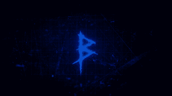 The letter B, in the style of how Killer B leaves their mark.
