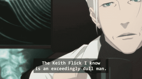Gil calling Keith one of the most dull men he knows.
