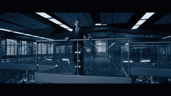 Sorrento overseeing his employees.