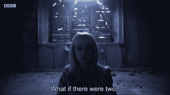 Matilda realizing that there were likely two kids locked up in that room.