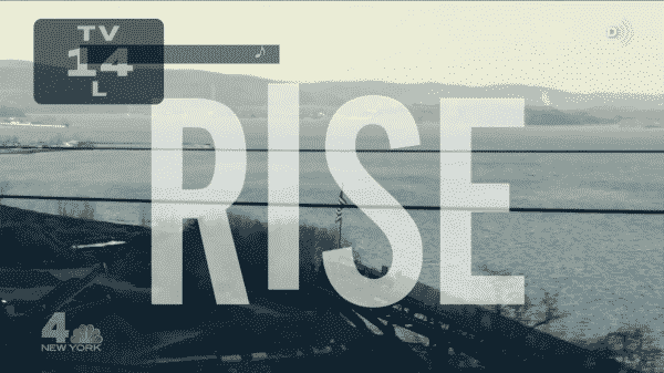 The title card for NBC's Rise.
