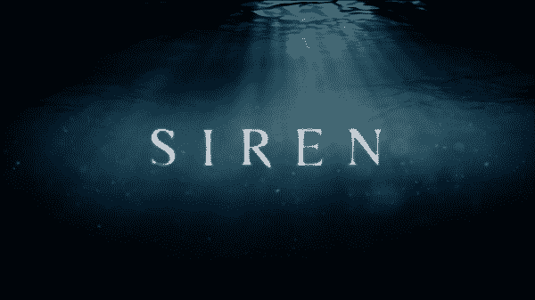Title card for FreeForm's Siren.